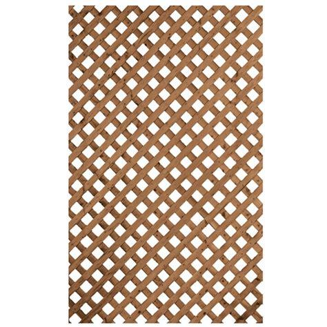 treillis intimite en bois traite brun    rona