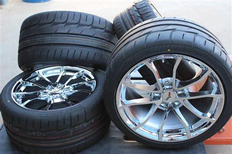 corvette c6 tire size chrome cup wheel bridgestone tire pkg for c6 z06 grand