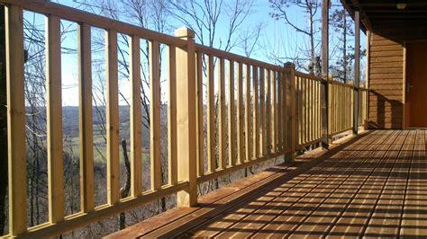 garde corp bois pour terrasse 2756 balustrade terrasse exterieur obasinc