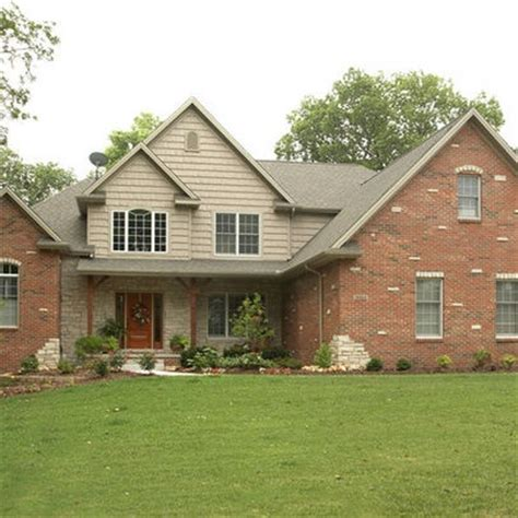 brick and siding houses red brick siding design ideas pictures remodel and decor page 5 for the home pinterest