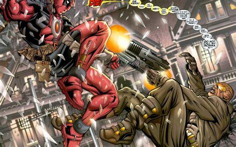 marvel heroes with weapons fb cover ocean deadpool marvel comics hero weapons guns wallpaper
