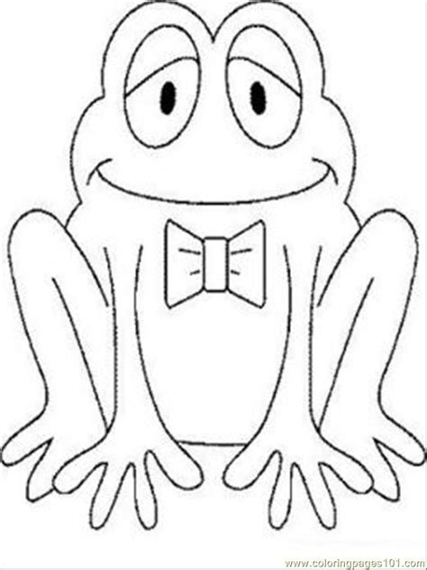 frog prince coloring page coloring home