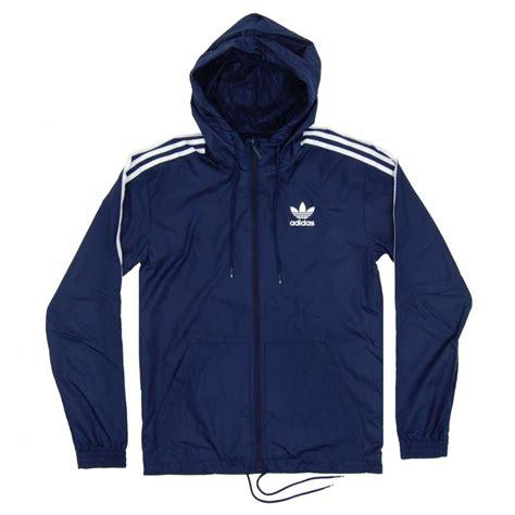 adidas originals itasca windbreaker collegiate navy mens jackets from attic clothing uk