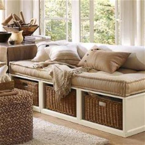 daybed with baskets stratton daybed with baskets from pottery barn home