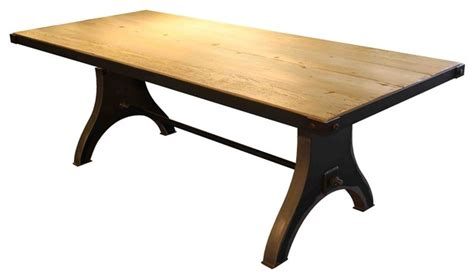 douglas fir dining table metropolis reclaimed douglas fir dining table industrial