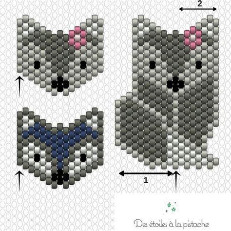 diagramme brick stitch diagramme brick stitch renards id 233 es et conseils brick