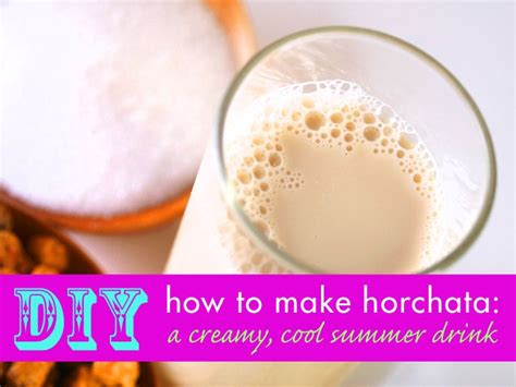 diy how to make horchata a delicious refreshing summer drink traditional spanish and
