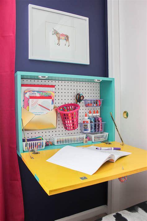 wall mounted drop desk diy wall mounted drop desk plans