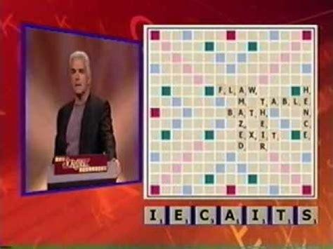 tv scrabble scrabble challenge show pilot 2002 cut