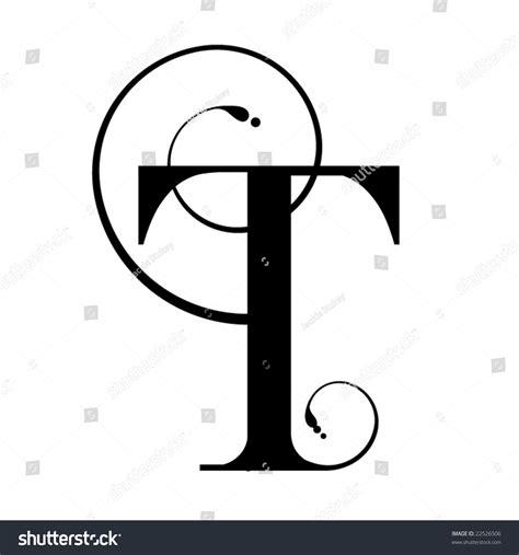 Letter Image Letter T Stock Vector Illustration 22526506