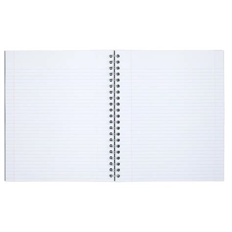 graph paper academic notebook ruled with table of metric equivalents books mead recycled 1 subject notebook college