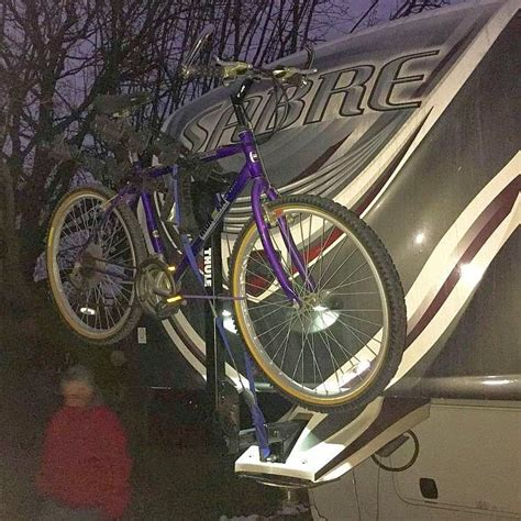 Box For Bike Rack by Diy Fifth Wheel Pin Box Bike Rack Pictures Learn To Rv