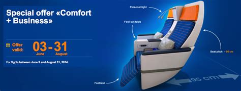 aeroflot economy comfort free upgrade to business class on aeroflot live and let