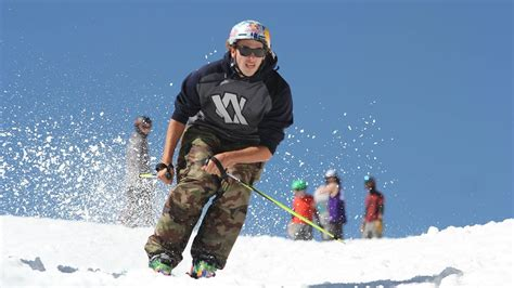 nick martini skier icelantic skis crew and nick goepper flips tricks and
