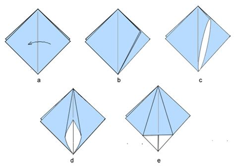Squash Fold Origami - origami squash fold