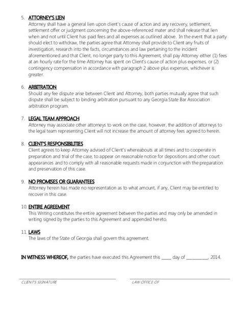 Agreement Letter For Client 25 Best Retainer Agreement Ideas On