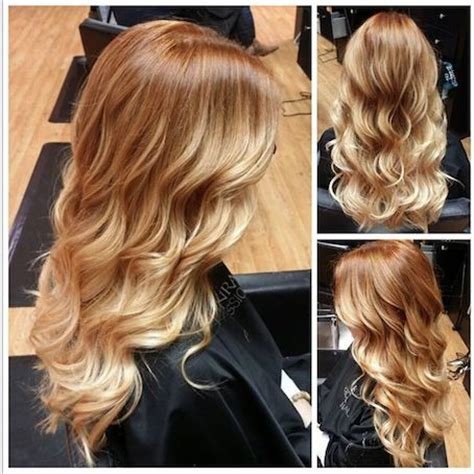 blonde and copper hairstyles best 10 copper blonde ideas on pinterest copper blonde