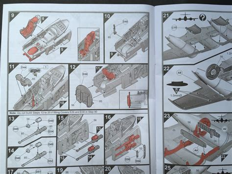 Plastikteile Lackieren Anleitung by Airfix Gloster Meteor F 8 1 48 Page 2 Of 3 Scale