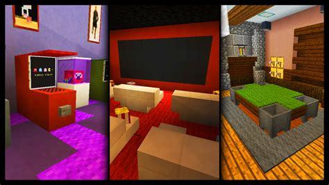 minecraft games room designs ideas youtube