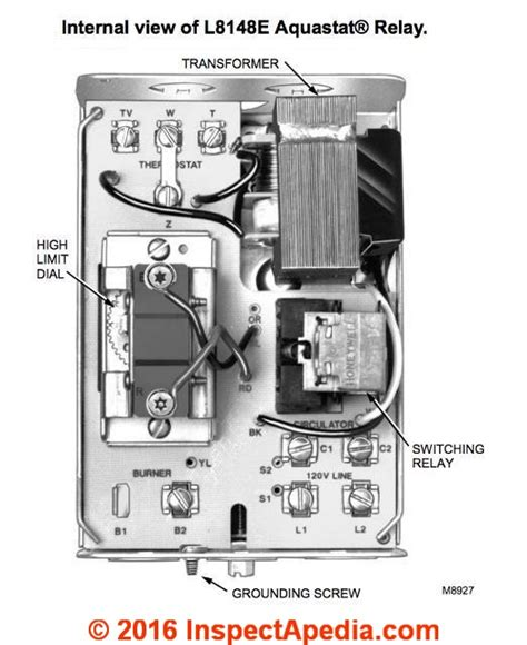 l8124a aquastat relay wiring diagram power wiring
