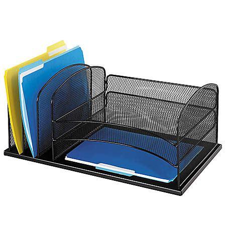 office depot desk organizer safco horizontal mesh desk organizer 8 14 h x 19 12 w x 11
