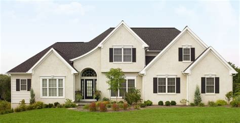 warm house colors quot white quot house with whiter trim black accents and black
