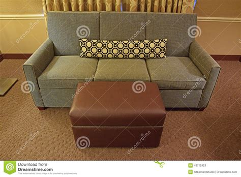grey leather and fabric sofa grey fabric sofa with brown leather ottoman and long