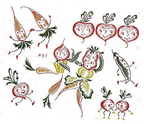 embroidery design transfer embroidery design transfer anthropomorphic fruit and