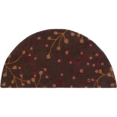 artistic weavers bari chocolate 2 ft x 4 ft hearth