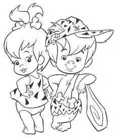 flintstones coloring book coloring