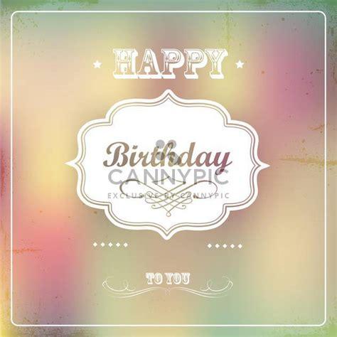 imagenes vintage happy birthday descargar vector tarjeta del feliz cumplea 241 os vintage