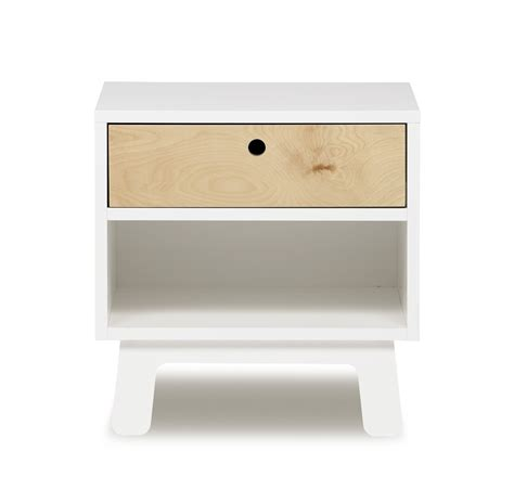 table de nuit blanc table de chevet contemporaine design ciabiz