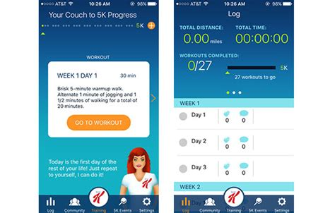 couch potato to 5k app 11 running apps you need to know about activekids