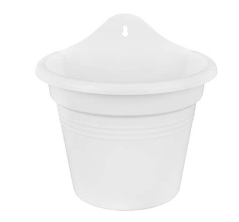 Pot Tawon 21 Cm 1 Lusin elho wall basket pot 21cm white 163 7 1 garden4less uk shop