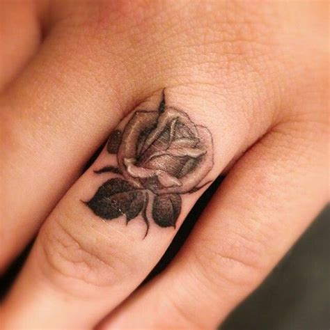 rose ring tattoo tiny inspiration tatoo
