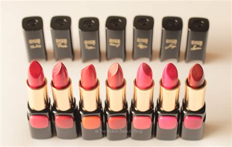 Lipstik Olay l oreal collection reds all 7 shades