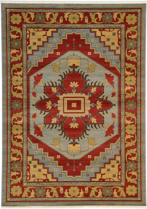 Heriz Design Rug Traditional Perisan Style Rugs Oriental Style Rug