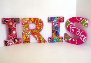 dekoration buchstaben letters personalized decorative wall in
