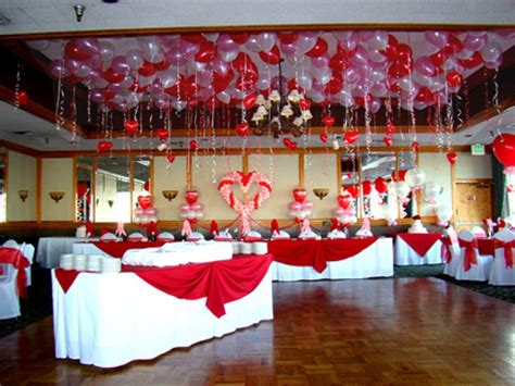 valentines wedding decorations day table decorations table