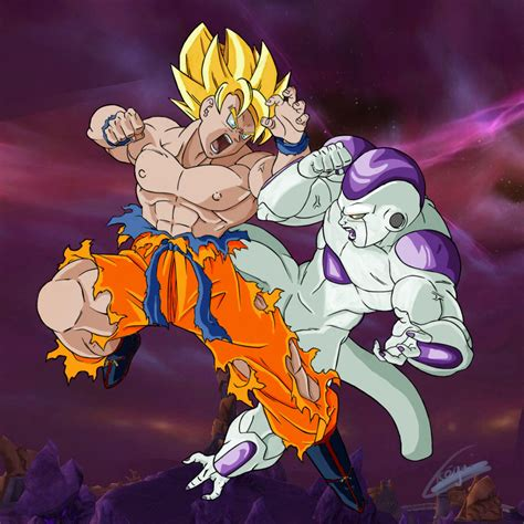 Goku Vs Frieza what was your favorite goku battle against a quot