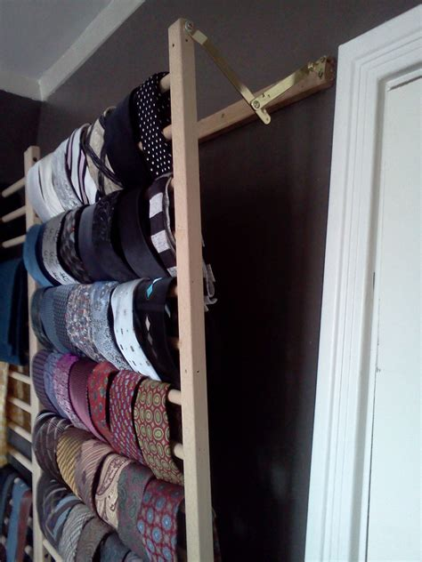 100 Tie Rack by Wall Mounted Tie Rack Ask Andy Forums