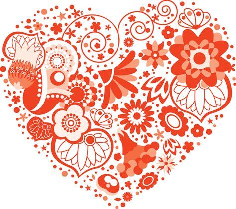 layout artist in spanish ポップでかわいい花のイラスト フリー素材 no 250 ハート型 赤