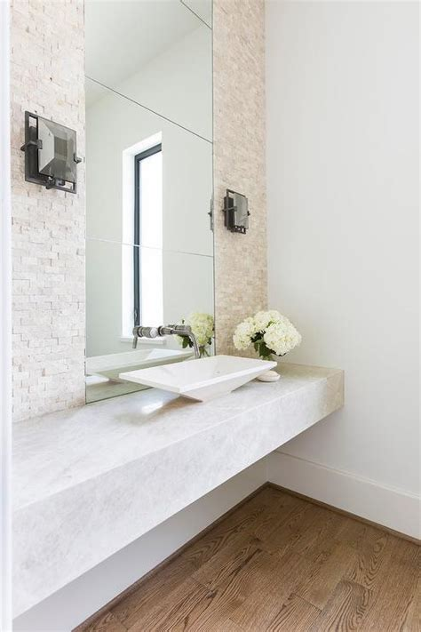 powder room vanity sink floating powder room sink vanity with modern vessel sink