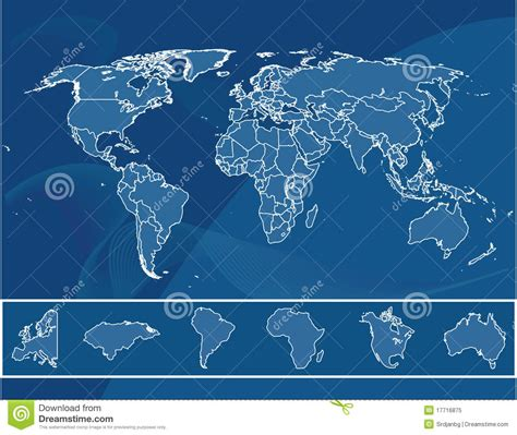 royalty free world map detailed map of the world royalty free stock photo image