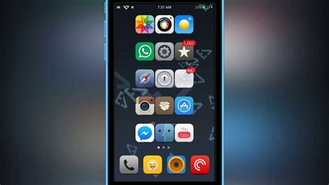 iphone themes youtube elite 7 for ios 7 theme that breaks all themes by