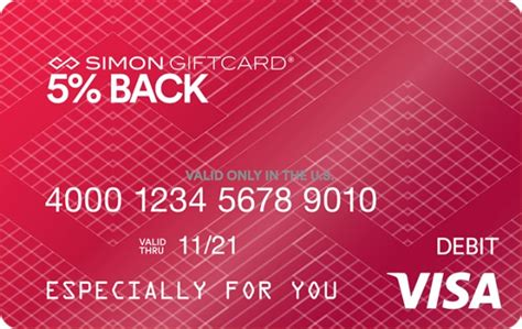 Simon Gift Card Customer Service - simon 5 back visa 174 simon giftcard 174