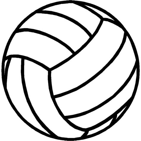 volleyball outline printable mahea s blog all about me
