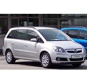 2011 Opel Zafira B – Pictures Information And Specs