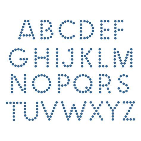 dot pattern alphabet dot alphabet cuttable font