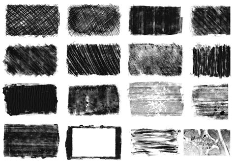photoshop patterns and textures monoprint texture brushes free photoshop brushes at